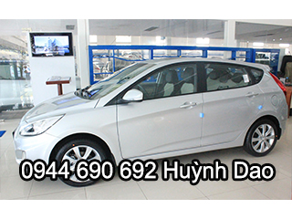 HYUNDAI ACCENT 5 CỬA 1.4AT MODEL 2017